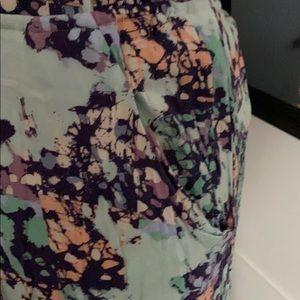 BCBGMaxAzria Dresses - BCBG Max Azria Paint Splatter Maxi Dress